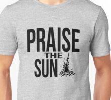 Praise the sun - version 2 - black Unisex T-Shirt