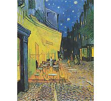 Vincent van Gogh - Café Terrace at Night Photographic Print
