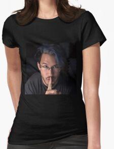 Markiplier - Shh... Womens Fitted T-Shirt
