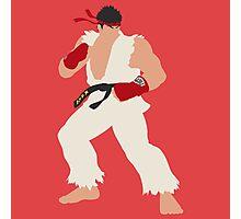 Smash Bros - Ryu Photographic Print