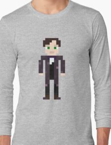 8-Bit 11th Doctor (Series 7B) Long Sleeve T-Shirt