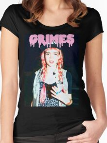 Grimes #2 Women's Fitted Scoop T-Shirt