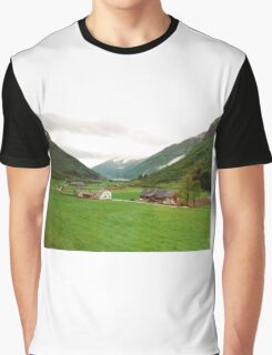 Rural Norway Graphic T-Shirt