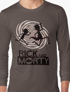 Morty Run Long Sleeve T-Shirt