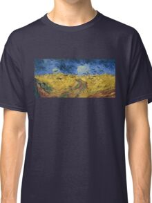 Vincent van Gogh - Wheatfield with Crows Classic T-Shirt