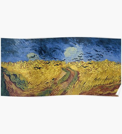 Vincent van Gogh - Wheatfield with Crows Poster