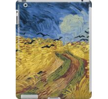 Vincent van Gogh - Wheatfield with Crows iPad Case/Skin