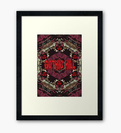M51 Gothic Hill Framed Print