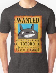 Wanted Totoro T-Shirt