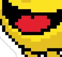 Pixel Pacman Sticker