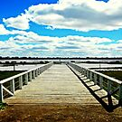 Natimuk Pier by cjcphotography