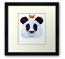 Hail Panda Framed Print