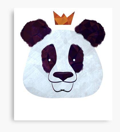 Hail Panda Canvas Print