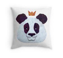 Hail Panda Throw Pillow