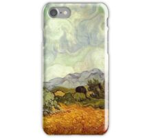 Vincent van Gogh - Wheat Field with Cypresses iPhone Case/Skin
