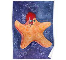 Ziggy Starfish Poster