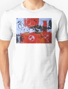 Water Series - Red Tides print by Heather Holland T-Shirt