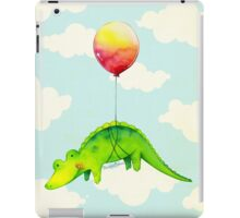 Alligator & Red Balloon iPad Case/Skin