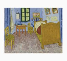 Vincent van Gogh - Bedroom in Arles One Piece - Short Sleeve