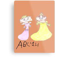 Princesses - ABC '14  Metal Print