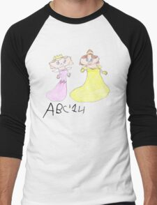 Princesses - ABC '14  Men's Baseball ¾ T-Shirt