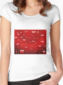 hearth Women's Fitted Scoop T-Shirt