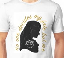 Belle French-Gold Silhouette Unisex T-Shirt