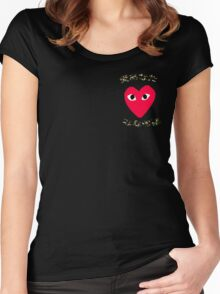 love yours  Women's Fitted Scoop T-Shirt