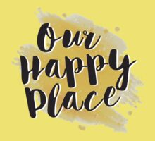 Our Happy Place Kids Tee