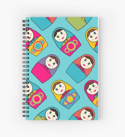 Babushka Dolls Spiral Notebook