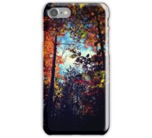 Bold Leaves of Autumn iPhone Case/Skin