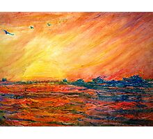 Sunset Departure by Heather Holland Photographic Print