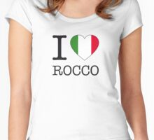 I ♥ ROCCO Women's Fitted Scoop T-Shirt