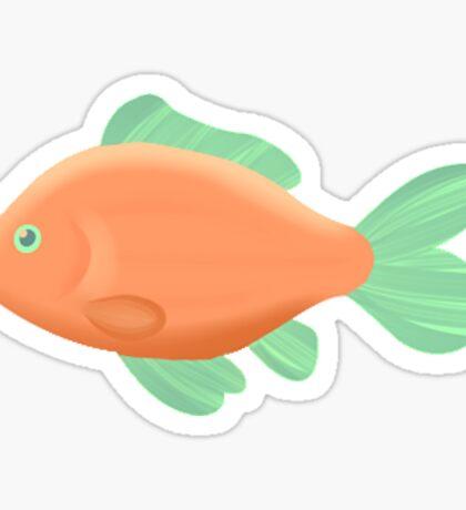 Tropical Fish Sticker