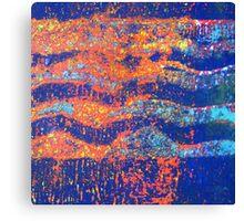 Ocean Waves 3 - Sunset  Canvas Print