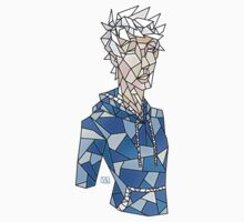 Jack Frost Stained Glass Kids Tee