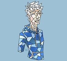 Jack Frost Stained Glass Unisex T-Shirt