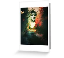 Stevie Nicks - Goddess Print Greeting Card