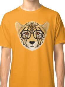 Wild Cheetah with Glasses - V01 Classic T-Shirt