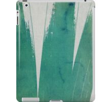 green ink - II iPad Case/Skin