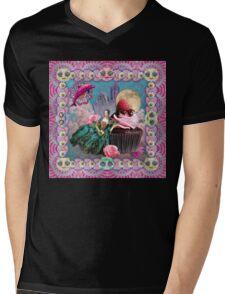 magical crystal dreamland  Mens V-Neck T-Shirt