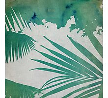 green ink - I Photographic Print