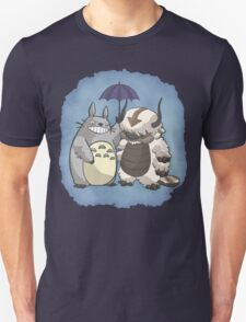 Totoro and Appa Unisex T-Shirt