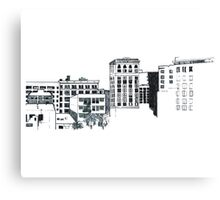 Buildings Canvas Print