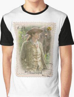 Outlander stamp/ Claire Fraser/The Sassenach Graphic T-Shirt