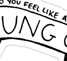 Young God Sticker