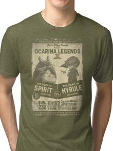 Totoro Zelda Tri-blend T-Shirt