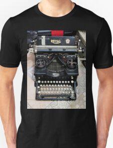Old style Royal typewriter with ribbon  T-Shirt