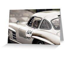 Mercedes Classic Racecar Greeting Card