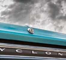 Cyclone Sticker
